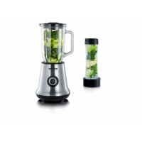 Blender szklany + mikser do smoothie 2 w 1 Severin SM 3737