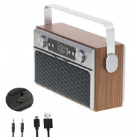 Radio Bluetooth przenośne retro FM MP3 AUX Camry cr 1183